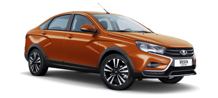 LADA Vesta Cross 1.6 MT (106 л.с.) Luxe