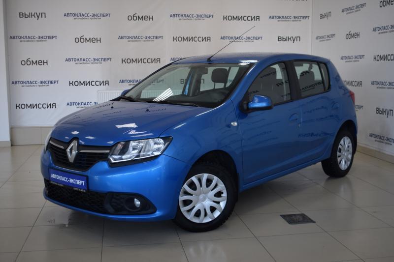 Renault Sandero Stepway 1.6 AT (102 л. с.)