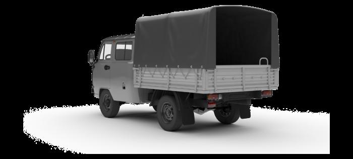 УАЗ Двойная кабина с бортом 2.7 5MT (112 л. с.) Euro-V Стандарт с БДИФ 562