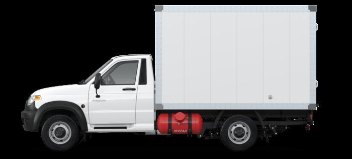 УАЗ Профи промтоварный 2.7 MT (149,6 л.с.) Бензин/Газ 4х4  Стандарт 4х4 ГБО  236022-131-01