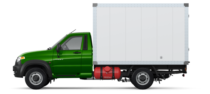 УАЗ Профи промтоварный 2.7 MT (149,6 л.с.) Бензин/Газ 4х4  Комфорт 4х4 ГБО 236022-231-01