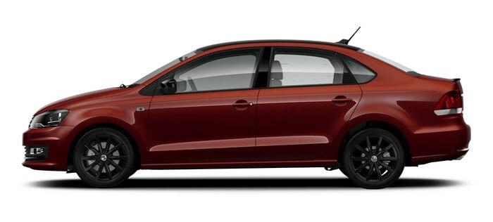 Volkswagen Polo 1.6 MPI AT (110 л. с.) Football Edition