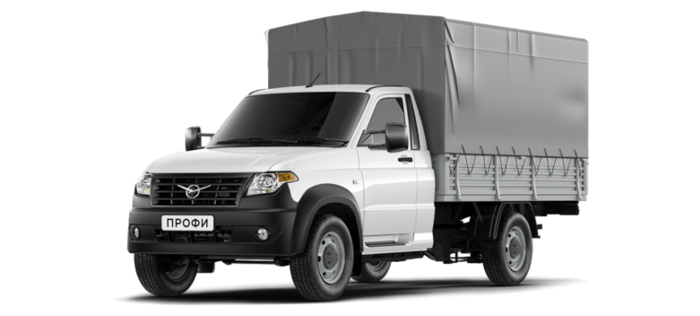 УАЗ Профи Борт 1870 мм 2.7 MT (143 л. с.) Бензин/Газ 4х4 Стандарт 4х4 ГБО