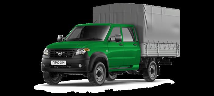 УАЗ Профи Борт с двойной кабиной 2.7 MT (150 л. с.) 4х4 Комфорт 4х4