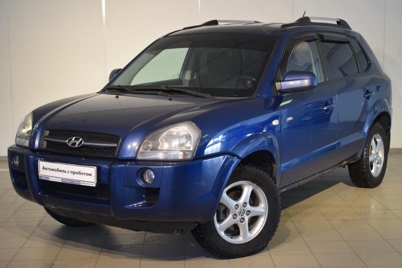 Hyundai Tucson 2.0 AT 4WD (141 л. с.)
