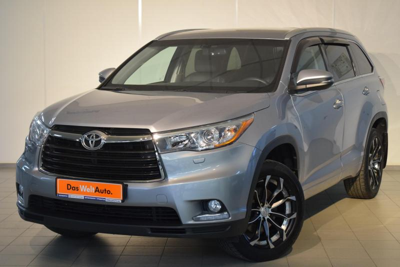 Toyota Highlander 2.7 AT (188 л. с.) Престиж