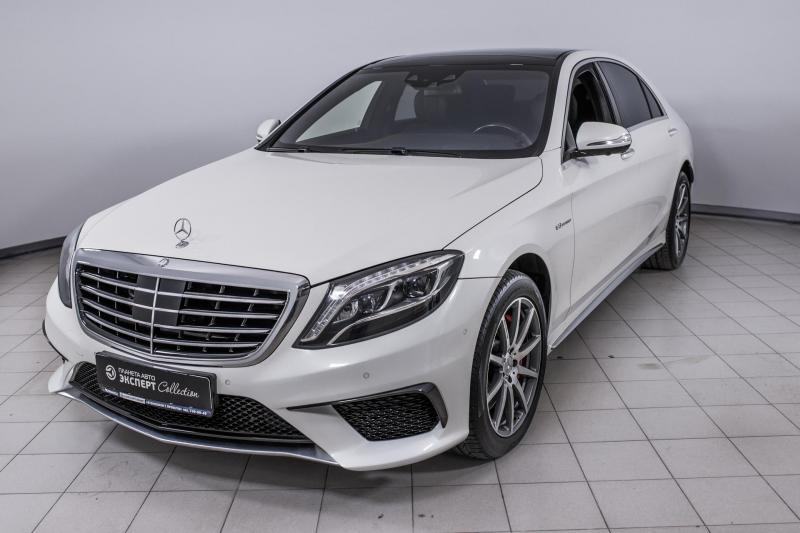 Mercedes-Benz S-Класс седан AMG S 63 AMG 4Matic SPEEDSHIFT MCT L(585 л. с.) Base