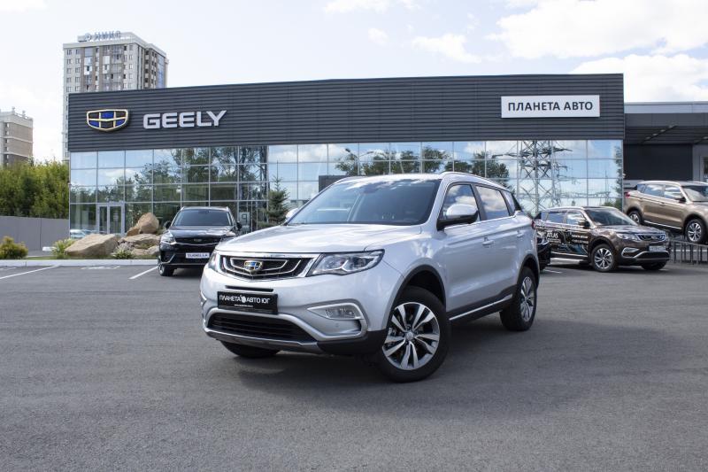 Geely Atlas 2.4 6AT AWD (149 л.с.) Luxury LED+ Yandex Auto