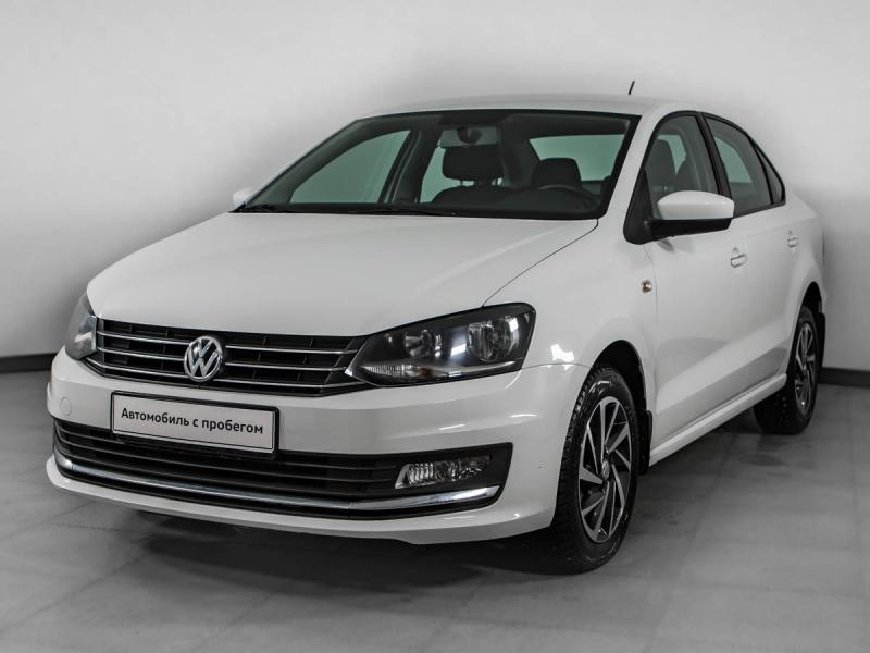 Volkswagen Polo 1.6 MPI AT (110 л. с.) Highline